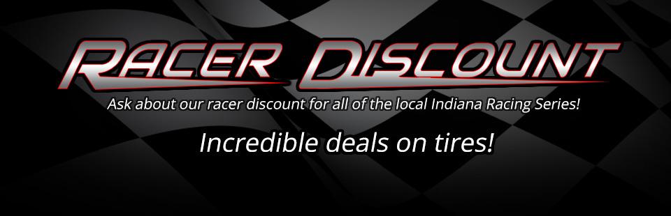 Get incredible deals with our Racer Discount! Click here to shop online.