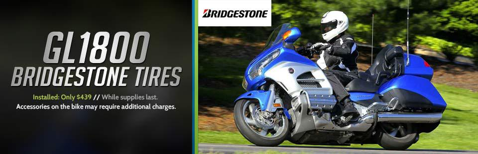 GL1800 Bridgestone Tires Installed: Now only $439 while supplies last!