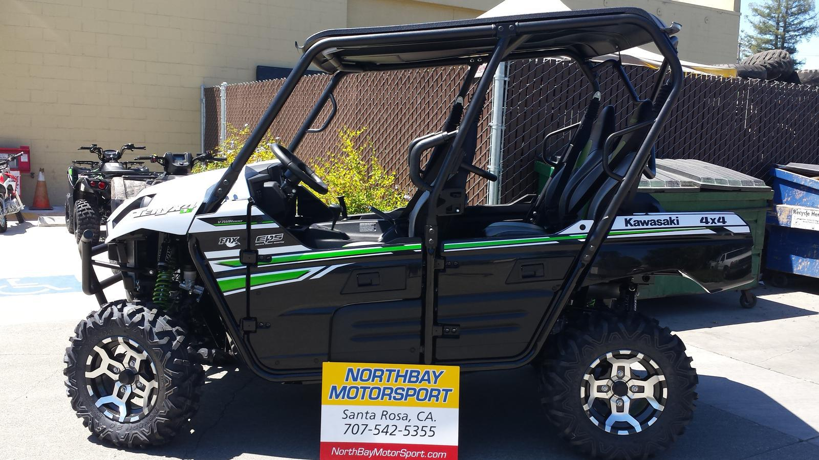 2017 kawasaki teryx 4 le for sale in santa rosa, ca | northbay