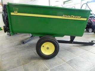 john deere utility cart steel 18 cu ft for sale in sellersburg in rays lawn garden center 812 246 6309 - Garden Utility Cart