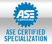 ASE Certified Specialization