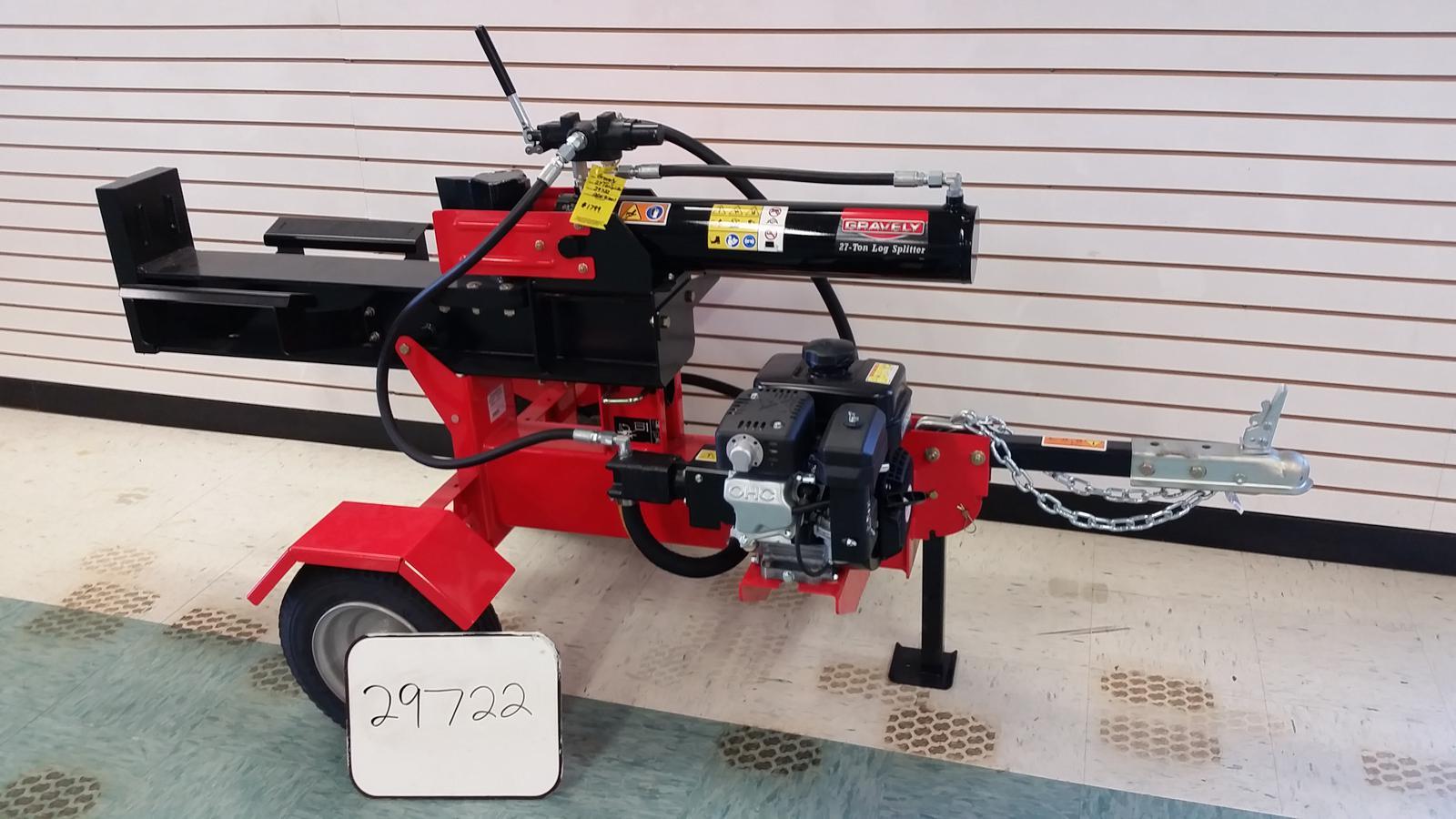 Log Splitter For Sale >> 2012 Gravely 27 Ton Log Splitter For Sale In West Henrietta Ny Mte