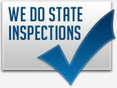 We Do State Inspections