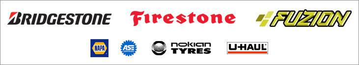 We carry products by Bridgestone, Firestone, Fuzion,  and Nokian. We are affiliated with NAPA and U-Haul and our technicians are ASE certified.