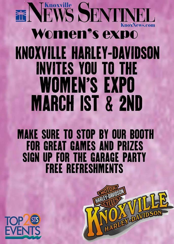 Women's Expo 2014 Knoxville Harley-Davidson