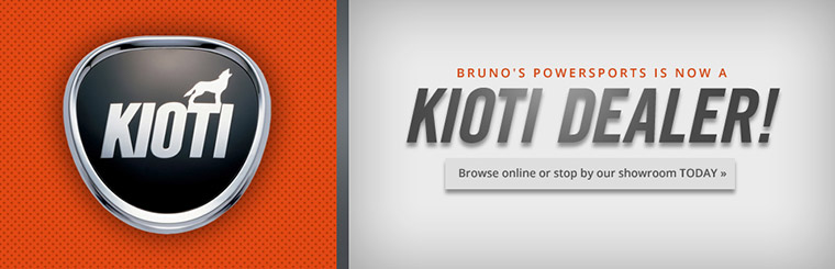 Bruno's Powersports is now a Kioti dealer! Click here to browse online.