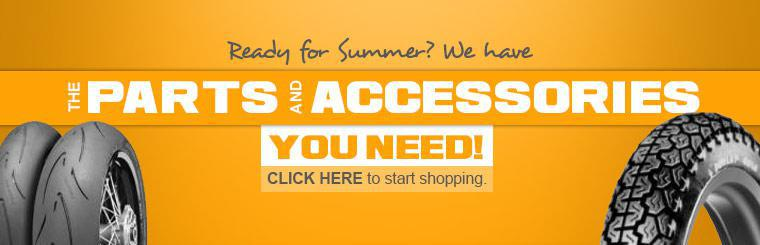 We have the parts and accessories you need for summer! Click here to start shopping.