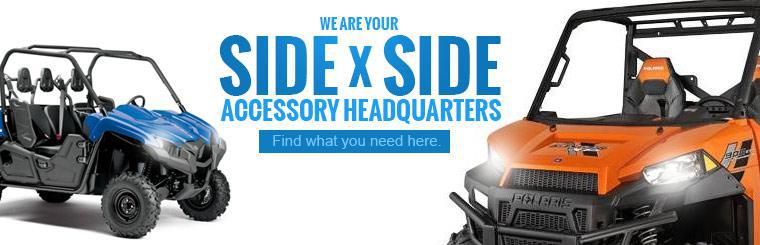 We are your side x side accessory headquarters! Find what you need here.