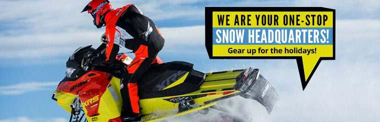 We are your one-stop snow headquarters!