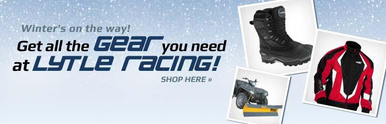 Winter's on the way! Get all the gear you need at Lytle Racing!
