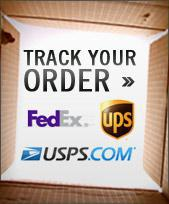 Track Your Order: Click a shipping logo below.