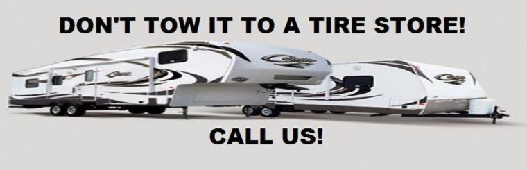 We service travel and utility trailers! Click here to request a service.