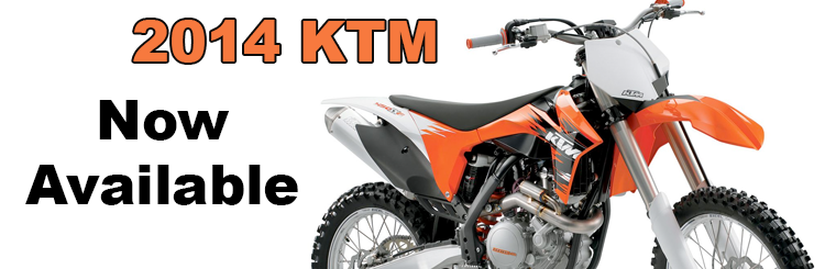 2014 KTM Now Available