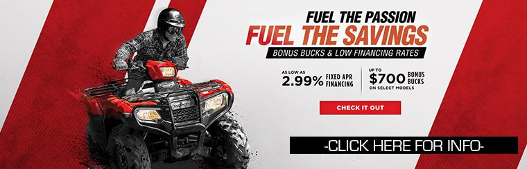 Honda Fuel the Savings Sales Event