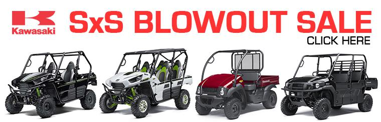 Kawasaki SxS BLOWOUT SALE