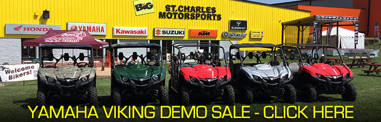 Yamaha Viking Demo Sale