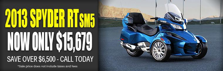 BiG St. Charles Can-Am Spyder Blowout Sale