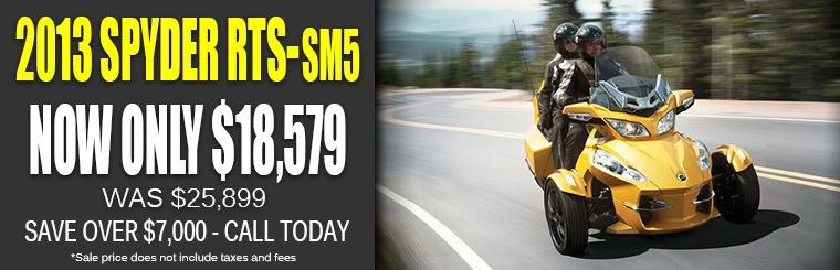 BiG ST. Charles Motorsports Can-Am Spyder Blowout Sale
