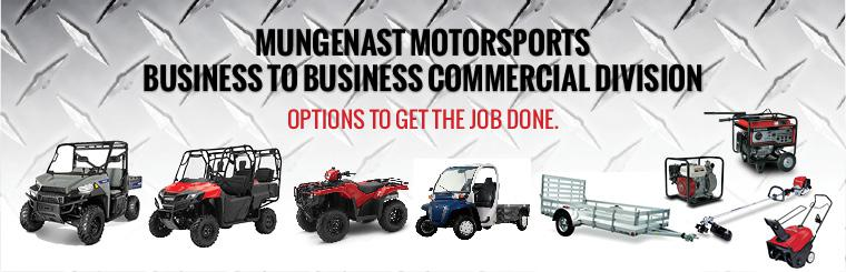 Mungenast Motorsports Commercial Division - Options to get the job done.