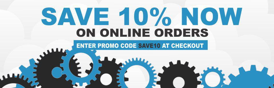 Save 10% off your online order