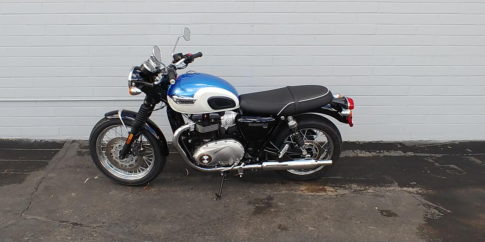 2019 Triumph Bonneville T100 900 For Sale In Mesa Az Phoenix