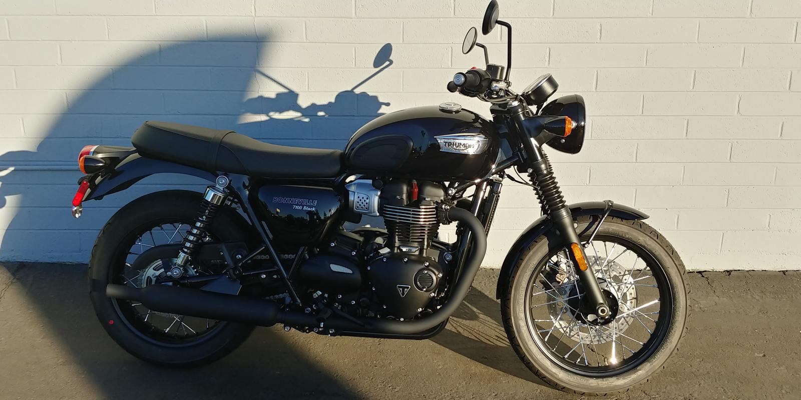 2019 Triumph Bonneville T100 Black 900 For Sale In Mesa Az Phoenix