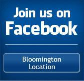 Join us on Facebook: Bloomington Location