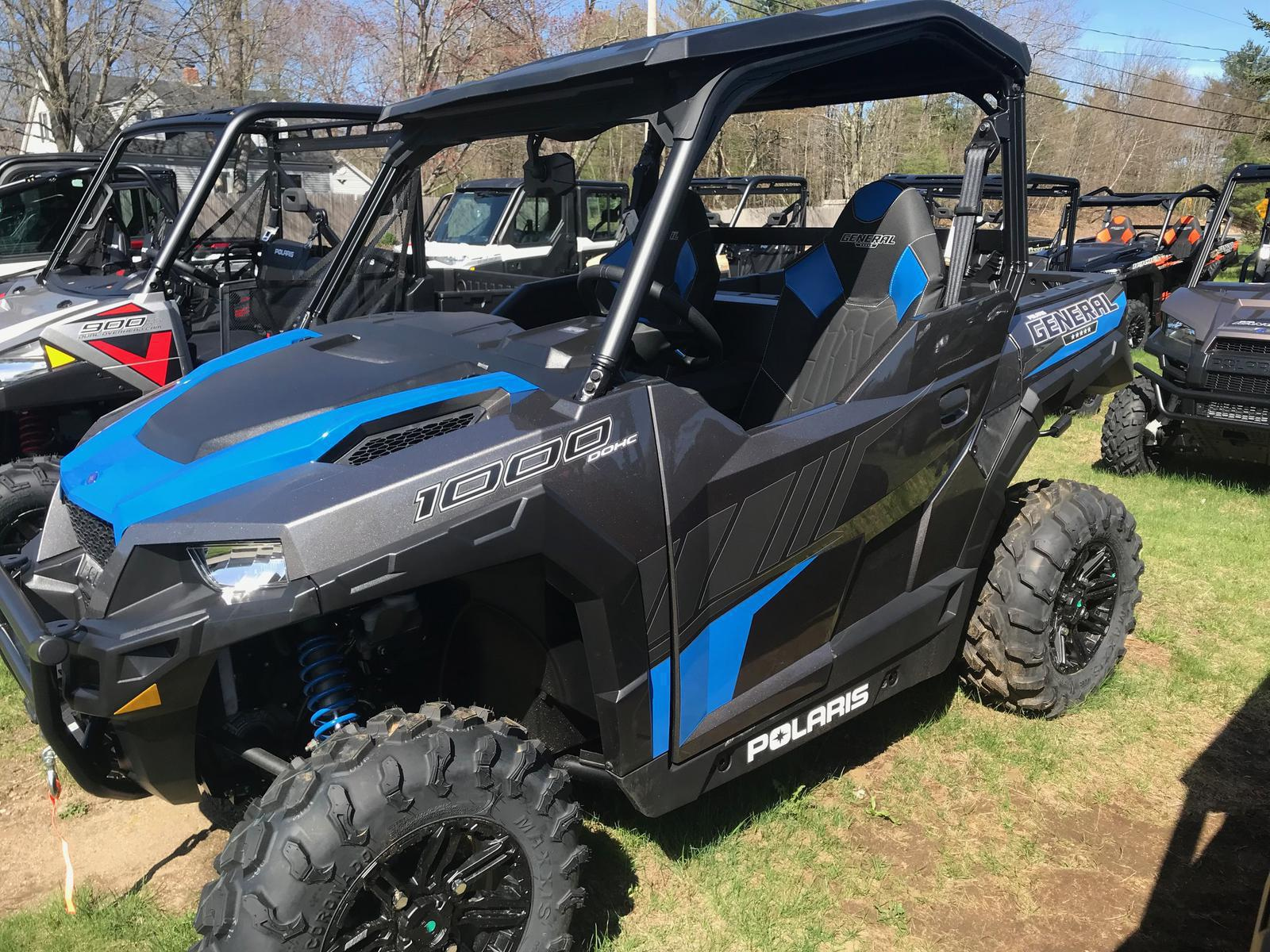 Polaris General 1000 >> 2019 Polaris Industries Polaris General 1000 Eps Deluxe Titanium Metallic
