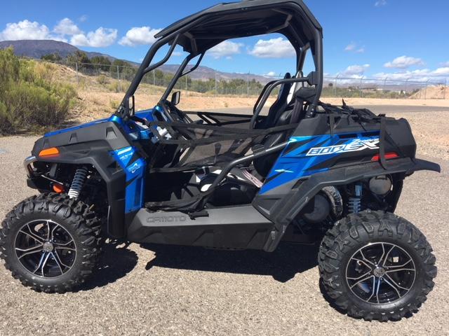 מקורי 2018 CFMOTO ZFORCE® 800 EX for sale in Cottonwood, AZ. D & K WD-43