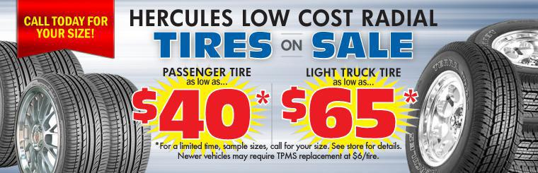 Low Cost Radial Tire Sale