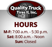 Quality Truck Tires, II Hours
