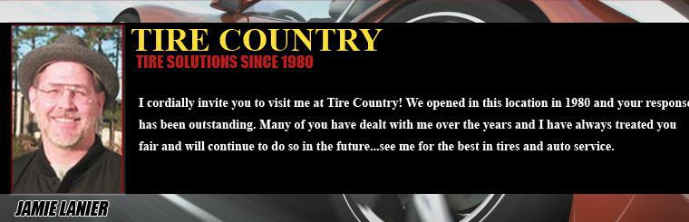 Tire Country tire solutions since 1980