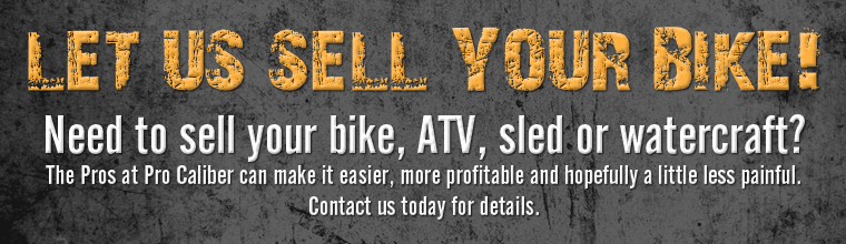 Let us sell your bike!