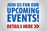 Join us for our upcoming events!