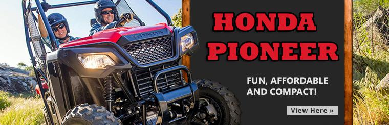 Check out the 2015 Honda Pioneer.