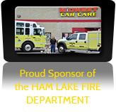 Proud Sponsor of the Ham Lake Fire Department.
