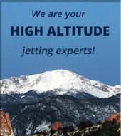 We are your high-altitude jetting experts!