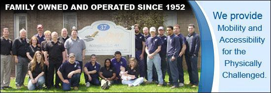 Family owned and operated since 1952! We provide Mobility and Accessibility for the Physically Challenged.