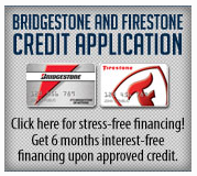 Bridgestone And Firestone Credit Application