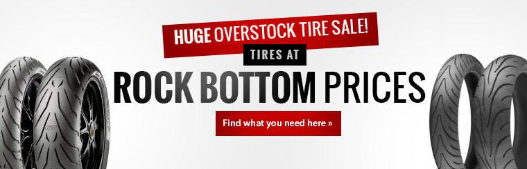 Huge Overstock Tire Sale: Click here to find tires at rock bottom prices!