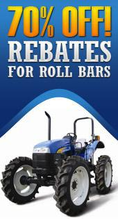 70% Off! Rebates for Roll Bars