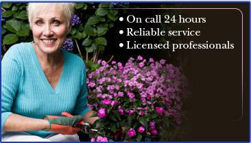 On call 24 hours. Reliable service. Licensed professionals.