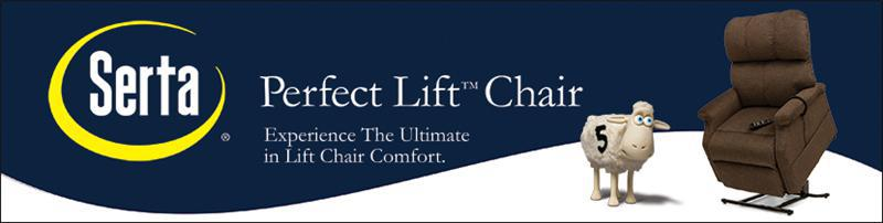 Serta Lift Chairs by Pride Mobility