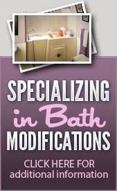 Specializing in Bath Modifications