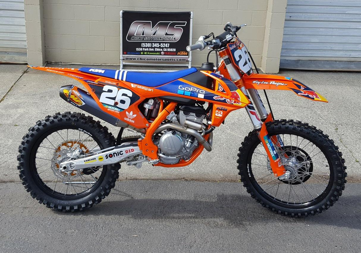 2017 ktm 250 sx-f factory edition for sale in chico, ca | chico