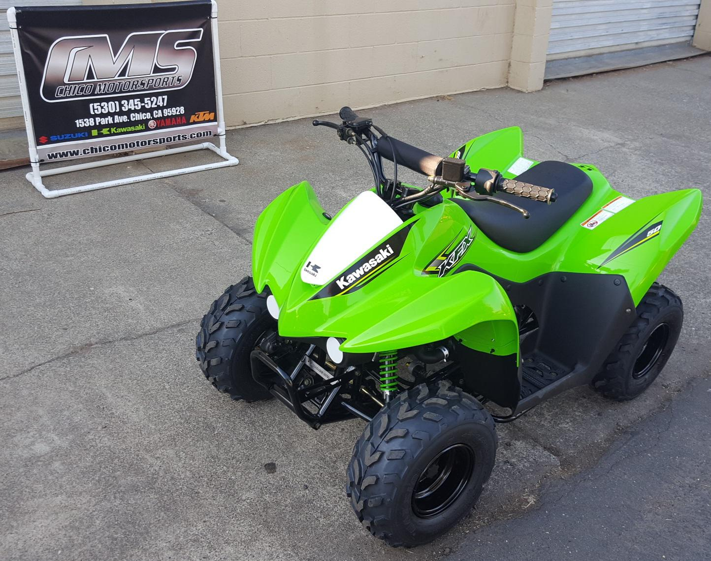2017 kawasaki kfx 50 for sale in chico, ca | chico motorsports