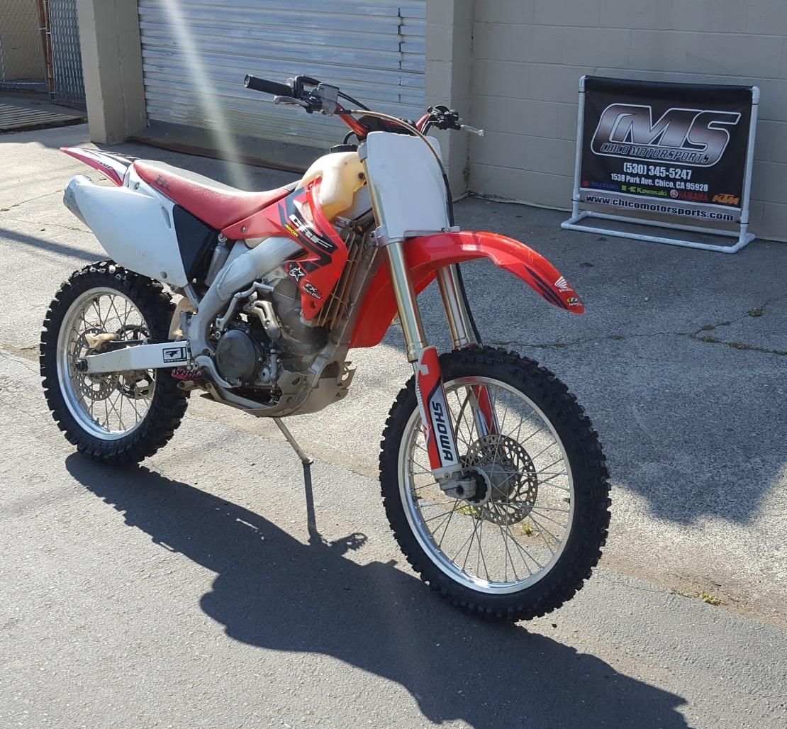 2004 honda crf450r for sale in chico, ca   chico motorsports (800