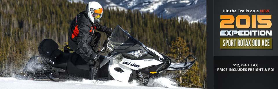 2015 Ski-Doo Expedition Sport Rotax 900 ACE: Click here to view the model.