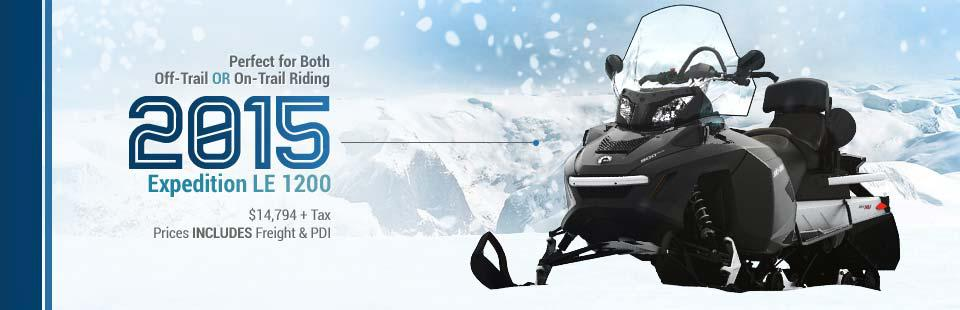 2015 Ski-Doo Expedition LE 1200: Click here to view the model.