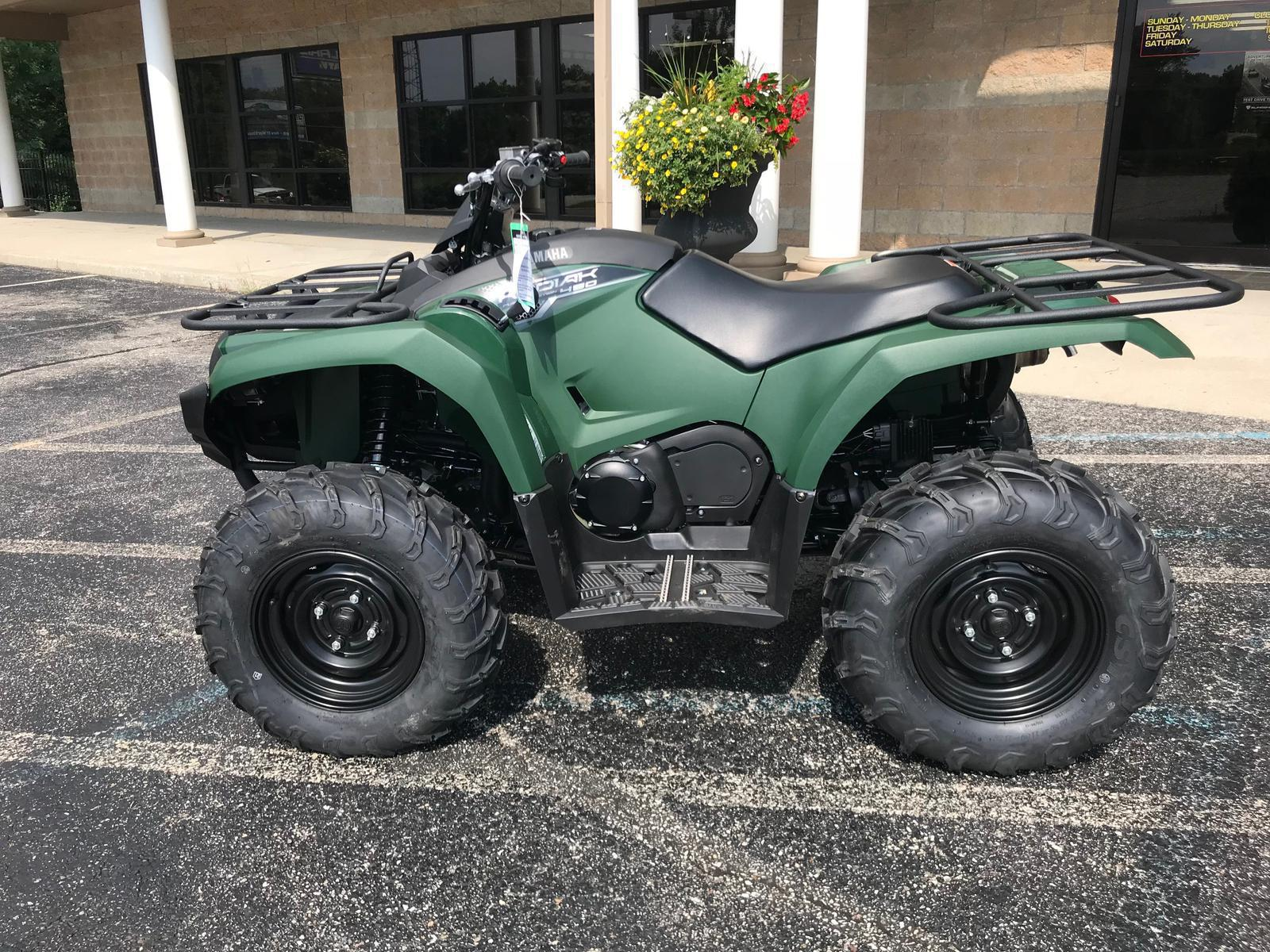 2018 Yamaha Kodiak 450 Awd For Sale In Martinsville Flat Out Fuel Filter Green 9